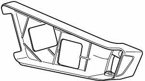 Thule 52371 Platine droite pour EasyFold