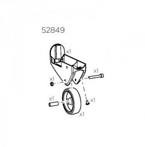 Thule 52849 Kit support roue droite pour EasyFold XT