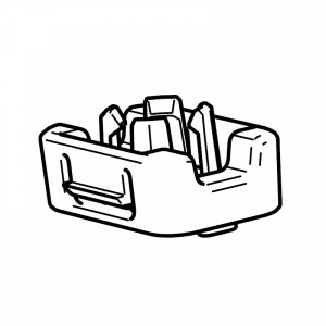 Thule 52865 Support écrou pour Snowpack Extender