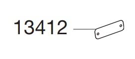 Thule 13412 Fixation verin pour coffre