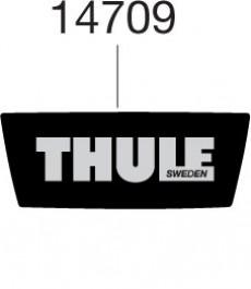 Thule Autocollant arrière 14709 pour coffre