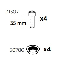 Thule Sac de montage 50977 pour kit 3004