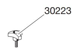 Thule 30223 Molette pour pieds 423