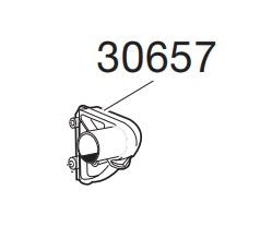 Thule 30657 Angle plastique pour galerie