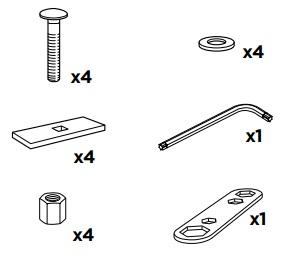 50926 Thule Sac de montage kit 3062