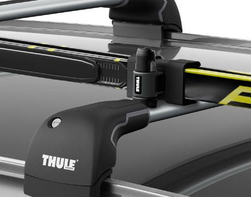 thule 7291 porte skis skiclick 7291 meovia boutique d 39 accessoires automobiles. Black Bedroom Furniture Sets. Home Design Ideas