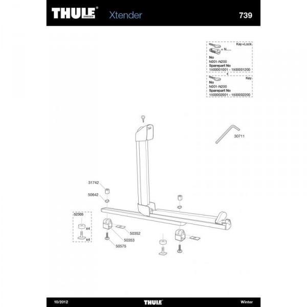 Thule 50353 Fixation