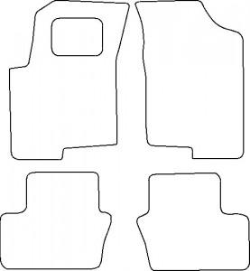 Tapis Jeep Patriot (2006-2011) – Velours Luxe Gris