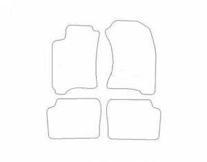 Tapis Subaru Forester (1997-2000) – Velours Beige