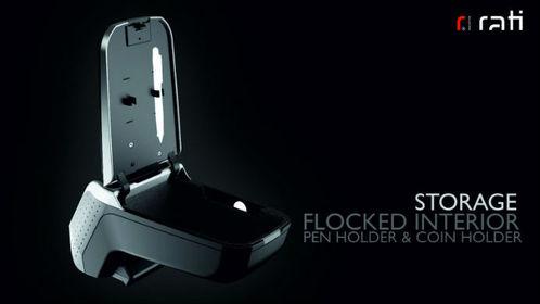 accoudoir fiat 500 2015 aujourd 39 hui rati v2 gris. Black Bedroom Furniture Sets. Home Design Ideas