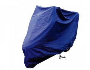 Housse Moto Nylon Taille L (229x99x125cm)