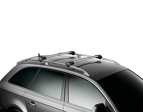 barres de toit audi a4 allroad thule wingbar edge aluminium meovia boutique d 39 accessoires. Black Bedroom Furniture Sets. Home Design Ideas
