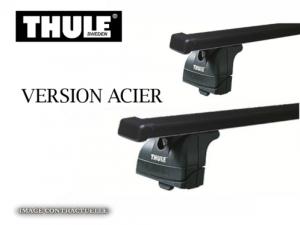 Barres de toit Bmw Série 1 Coupe Thule SquareBar acier