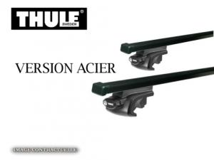 Barres de toit Bmw Série 3 Touring (1996-2011) Thule SquareBar acier