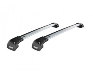 Barres de toit Bmw Série 3 (2012-) Thule WingBar Edge aluminium