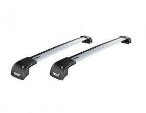 Barres de toit Bmw X1 (toit Avec Barres) (2009-2015) Thule WingBar Edge aluminium