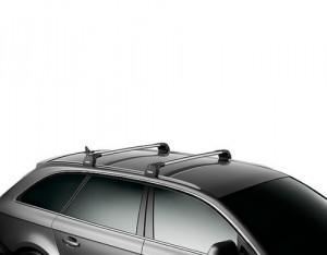 Barres de toit Bmw Série 3 Touring (2012-) Thule WingBar Edge aluminium