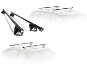 Barres de toit Volvo XC90 (2015-)(toit avec barres longitudinales)