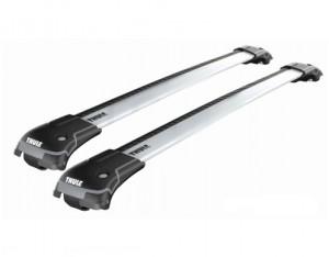 Barres de toit Renault Clio 3 Break Thule WingBar Edge aluminium