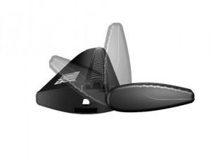 2 Barres De Toit Thule Wingbar 962 Black