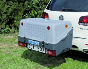 Coffre Towbox V1 Gris 280l
