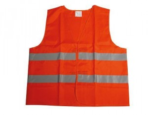 Gilet De Sécurité Orange Adulte