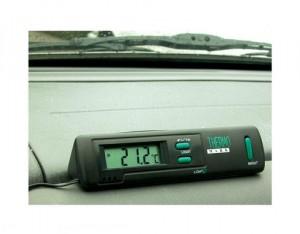 Thermomètre Auto Intérieur/Extérieur