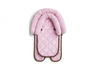 Coussin Bebe Rose