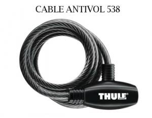 Cable Antivol Thule 538
