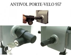 Thule 957 antivol porte velo meovia boutique d for Porte antivol u velo