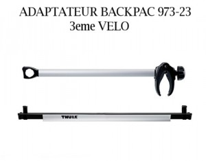 Adaptateur Thule Backpac 3eme Vélo 973-23
