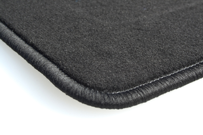 Tapis Jeep Compass (05/2011-05/2017) – Velours Luxe Noir